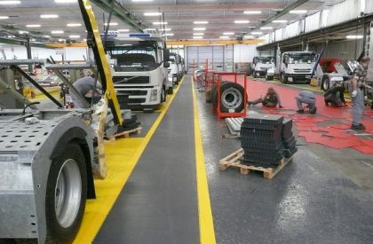 Factory flooring – Remove production downtime with Flexi-Tile