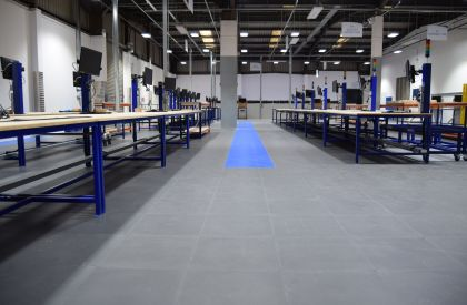Flexi-Tile- The Perfect Warehouse Flooring